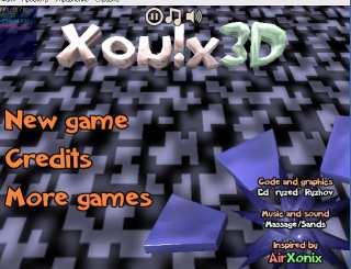 XONIX 3D | ♪ МУЗЫКА ♪ и полное озвучение игр!! The SandS Group ™!