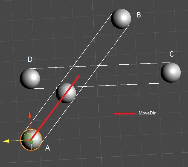 2   Пересечение движущихся сфер