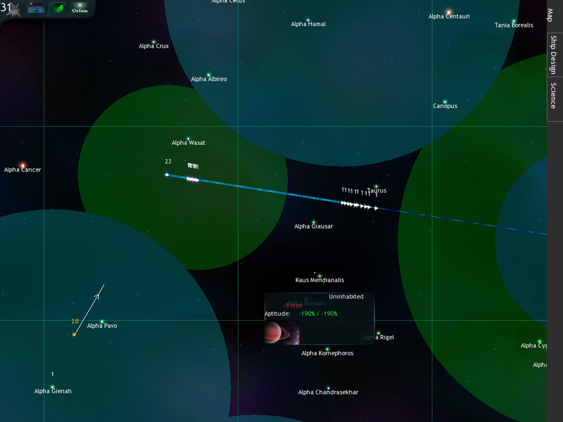 Звёздный экран | Tachyon Wars (MMO Space Strategy)