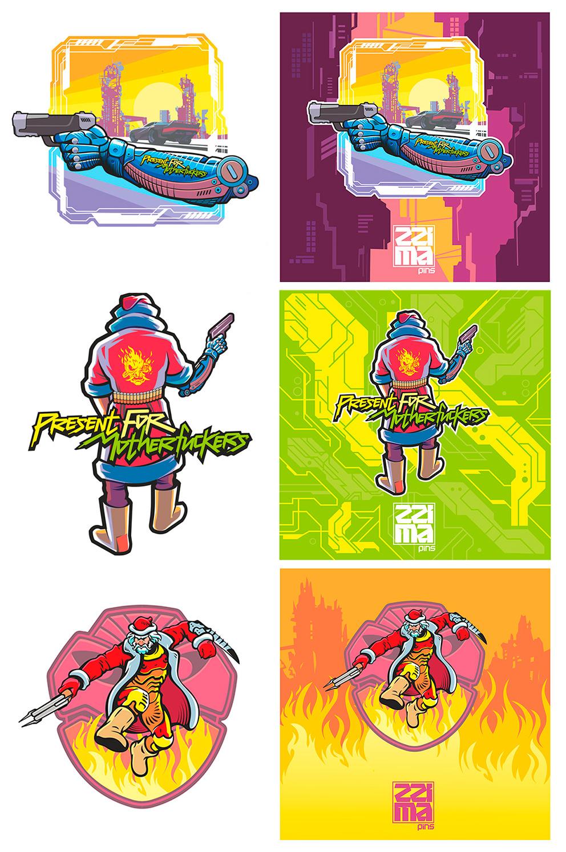 значки, фан | 2D художник. Персонажи и не только. Удалённо.